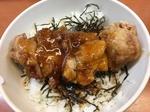 ガストSの若鶏竜田揚げ丼.JPG