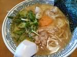 丸源肉そば2014.JPG